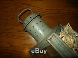 WW2 German Navy Kriegsmarine SHIPBOARD LAMP / LANTERN #3 PRINZ EUGEN RARE