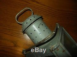 WW2 German Navy Kriegsmarine SHIPBOARD LAMP / LANTERN PRINZ EUGEN RARE