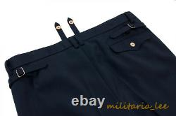 WW2 German Repro Kriegsmarine Navy Blue Whipcord Trousers All Sizes