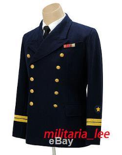 WW2 German Repro Kriegsmarine Navy Blue Wool Tunic All Sizes