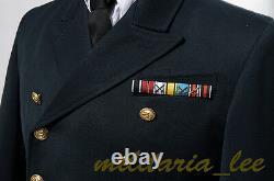 WW2 German Repro Kriegsmarine NavyAdmiral Navy Blue Whipcord Tunic All Sizes