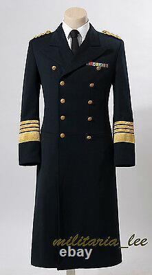 WW2 German Repro Kriegsmarine NavyNavy Blue Whipcord Frock Coat All Sizes