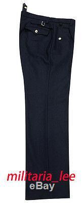WW2 German Repro Kriegsmarine NavyNavy Blue Wool Trousers All Sizes