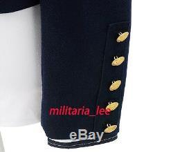 WW2 German Repro Kriegsmarine Sailor Navy Blue Wool Mess Dress Tunic All Sizes