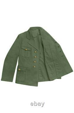 WW2 German Tropical Kriegsmarine Officer olive tunic M