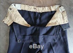 WW2 German uniform pant NAME officer WW1 jacket kriegsmarine navy long trouser