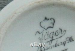 WW2 Historical German KM Kriegsmarine Navy Porcelain Cup Jäger Eisenberg 1941