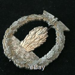 WW2 Kriegsmarine German Minesweeper Badge Solid Back 100% Genuine Military 20/5