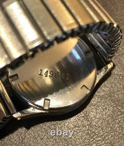 WW2 Kriegsmarine Wrist Watch Festa 720 15 Jewel Movement German Navy