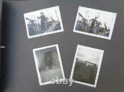 WW2 ORIGINAL WWII GERMAN PHOTO Album military KRIEGSMARINE 1
