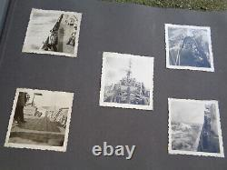 WW2 ORIGINAL WWII GERMAN PHOTO Album military KRIEGSMARINE U-BOAT