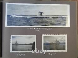 WW2 ORIGINAL WWII GERMAN PHOTO Album military KRIEGSMARINE Uboot 16