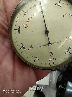 WW2 StopWatch 6 Secondes U-boat chrono 6 secondes Kriegsmarine military german