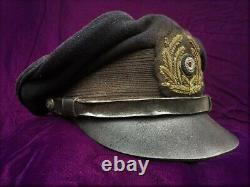 WW2 Style German U-boat Kriegsmarine NCO Hat Cap U-566 White Wolf