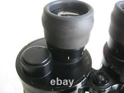 WWII BEH Leitz 7x50 Porro II desiccant cartridges German Kriegsmarine binoculars
