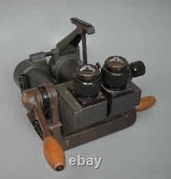 WWII German 10x80 Kriegsmarine Naval Binoculars EUG Fernglas U-Boat Original WW2