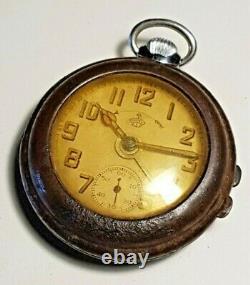 WWII-Thiel Uhr Wehrmacht Alarm Pocket Watch-German Reich-Kriegsmarine-UBoot-War