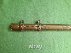 Ww1 or ww2 German Kriegsmarine Naval Dagger Sheath Scabbard Cover