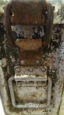 Ww2 GERMAN WW2 ALUMINUM AMMO CASE MG 34-42 LUFTWAFFE KRIEGSMARINE DEUTSCH REICH