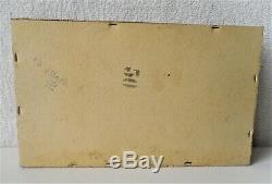 Ww2 German Kriegsmarine 50 Cigars Box For U-boat Comanders
