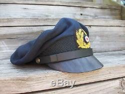 Ww2 German Kriegsmarine Nco'crusher' Cap. Be Aware My Images Been Stolen