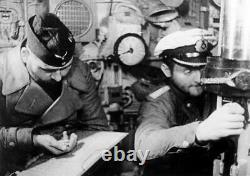 Ww2 German Kriegsmarine u-boat Unterseebootsflottille torpedo stopwatch 1 from4
