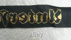 Ww2 Kriegsmarine German Navy Cap Tally Ribbon Unterseebootsflotilla Hundius