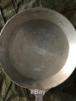 Ww2 Wwii German Kriegsmarine Original Aluminium Pan For Cooking Submarine Marked