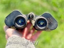Wwii German Blc (kriegsmarine) Smooth Ocular 7x50 Binoculars