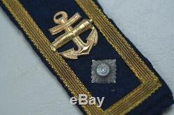 Wwii German Kriegsmarine Bootsmann Cannonier Shoulder Boards Matched Pair
