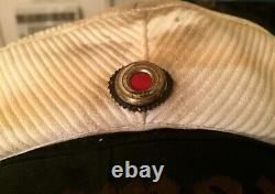 Wwii Ww2 Wehrmacht Military German Navy Naval Kriegsmarine Enlisted Hat Cap