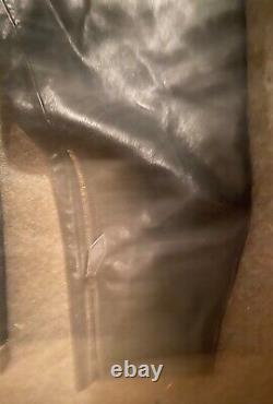 Wwii Ww2 Wehrmacht Military German Navy Naval Kriegsmarine Leather Coveralls #2