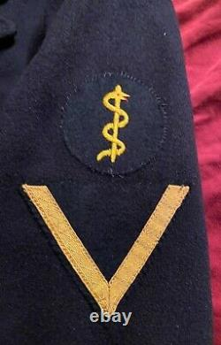 Wwii Ww2 Wehrmacht Military German Navy Naval Kriegsmarine Uniform Peacoat