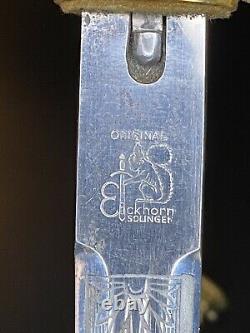 Wwii german Navy Kriegsmarine Parade Bayonet w Portepee Maker Stamp Very Rare